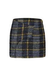 Plaid Wrap Skirt by Derek Lam 10 Crosby