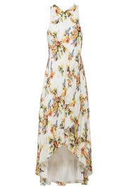 Floral Jane High Low Maxi by Haute Hippie