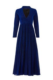 Blue Glitter Veronica Dress by Alcoolique