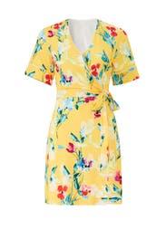 Floral V-Neck Wrap Dress by Alexia Admor