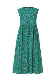 Green Floral Shift by Marni