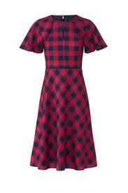 Buffalo Check Dress by Draper James