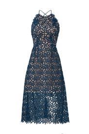 Blue Opal Lace Dress by Slate & Willow