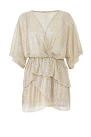 Sheer Gold Wide Dress by Iro