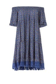 Wild Pansy Dress by Tory Burch