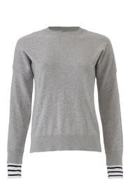 Striped Cuff Sweater by Derek Lam 10 Crosby