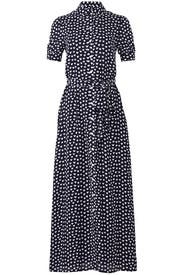 Navy Heart Printed Maxi by Draper James