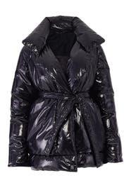 Shiny Black Coat by Bacon