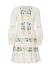 Embroidered Boho Dress by Tory Burch