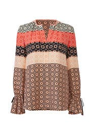 Printed Carnation Blouse by Derek Lam 10 Crosby