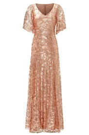 Shimmering Rose Gown by Slate & Willow