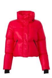 Red Mimi Jacket by Mackage