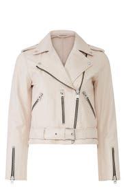 Balfern Leather Jacket  by AllSaints