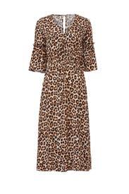 Leopard Mathieu Dress by Just Female
