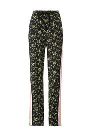 Floral Track Pants by No. 21