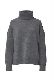 Grey Turtleneck by Co
