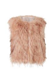 Barbarella Faux Fur Vest by BB Dakota