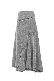 Draped Knit Midi Skirt by 3.1 Phillip Lim