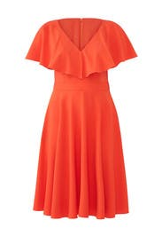 Orange Beth Dress by Jay Godfrey