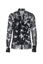Chalk Multi Fruit Blouse by Jason Wu Collection