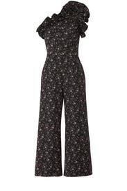 Dark Floral Jumpsuit by Rebecca Taylor