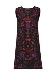 Purple Palm Shift Dress by Cynthia Rowley