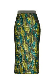 Liza Sequin Skirt by Le Superbe