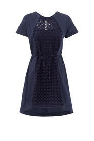 Navy Garden Fence Dress by O2nd