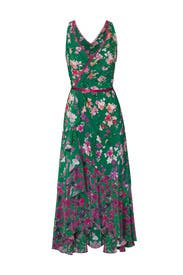 Emerald Floral Maxi by Marchesa Notte
