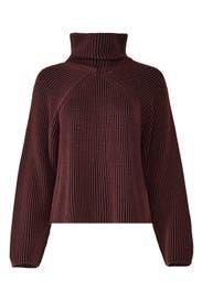 Aubergine Sweater by Tara Jarmon