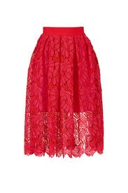 Elicia Lace Skirt by PINKO