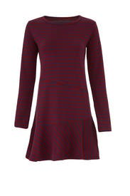 Directional Stripe Dress by KINLY