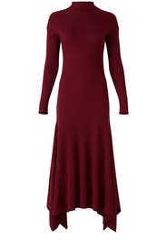 Red Panel Dress by Theory