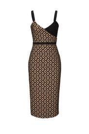 Sera Printed Sheath Dress by Cinq à Sept