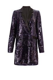 Sequin Blazer Dress by Fleur du Mal