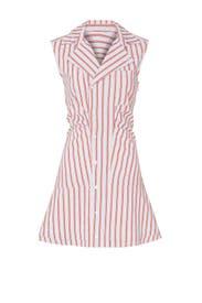 Ruffle Placket Shirtdress by Derek Lam 10 Crosby