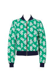 Hilltop Green Garden Jacket by Draper James