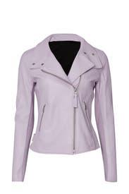 Sandy Leather Jacket by Mackage
