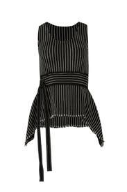 Striped Waist Belt Tank by Derek Lam 10 Crosby
