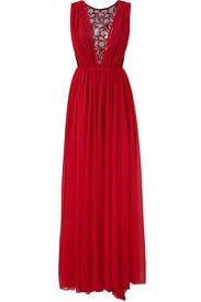 Red Eve Gown  by Christian Pellizzari
