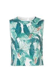 Tiana Palm Sequin Top by Rachel Zoe