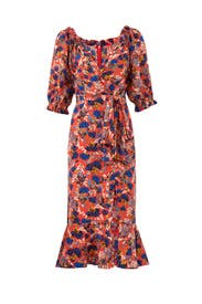 Flame Azalea Dress by SALONI