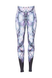 Future Floral Captain Ankle Tight Leggings by ALALA