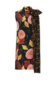 Tie Detail Floral Dress by Mother of Pearl