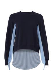Combo Midnight Sweater by Derek Lam 10 Crosby