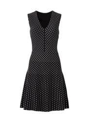 Black Stripe Sweater Dress by kate spade new york