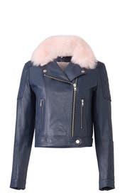 Sky Rose Faux Fur Jacket by Samantha Sipos