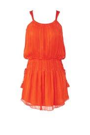 Orange Lydia Dress by Ramy Brook