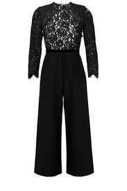 Black Ophelia Jumpsuit by Alexis