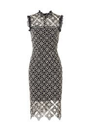 Ivory Lace Sheath by ML Monique Lhuillier